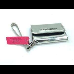 VS Chrome Silver Clutch Wallet
